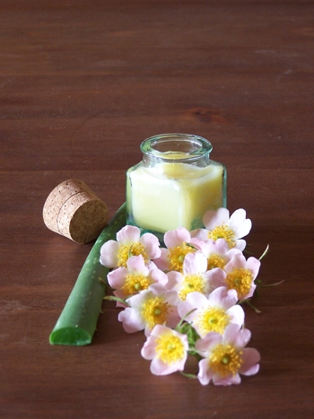 EXTRA OLIVE OIL HAS MOISTURIZING PROPERTIES IN THIS CREAM.