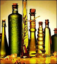 Flavoured olive oil can easily be made at home