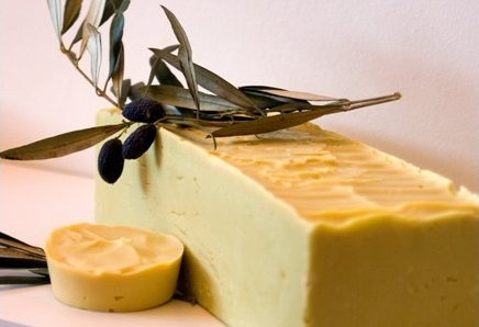 Homemade soap made from virgin olive oil forms a part in a wide range of natural products