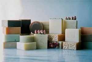 NATURAL  SOAP HAS TERAPEUTIC QUALITIES.