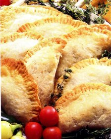 Pasty with goats cheese