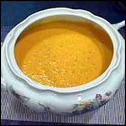Delicious cream of chickpea soup