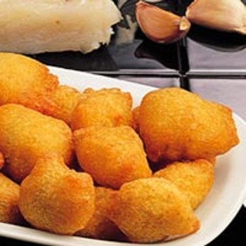 Delicious hot appetiser