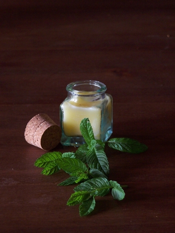 VIRGIN OLIVE OIL IS PRINCIPAL INGREDIENT TO MINT LIP BALM.