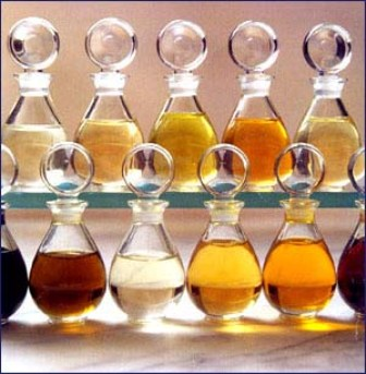 Bath oils made with olive oil