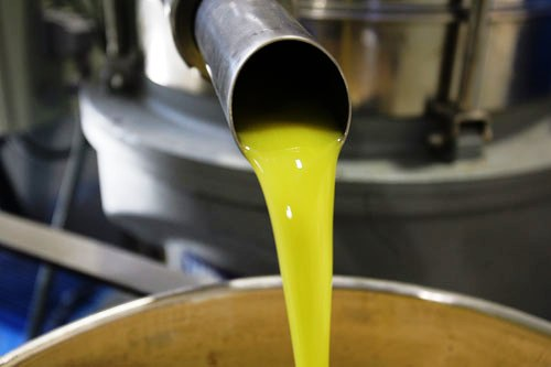 Pressed virgin olive oil