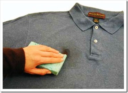 How you can get an oil stain out of fabrics