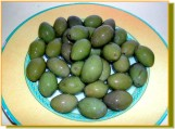 Dressed olives can be eaten at any time throughout the year