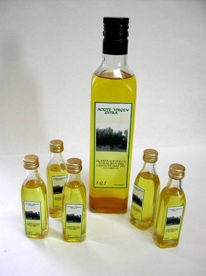 Olive oil from Lower Aragón is mainly made with 'empeltre' olives