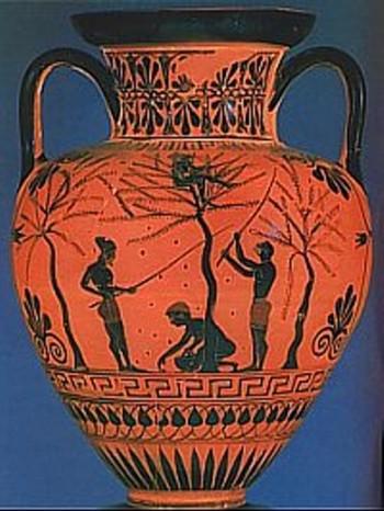 En las ánforas se almacenaba el aceite de oliva