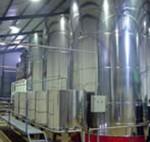 Deposito para almacenar el aceite de oliva en las cooperativas