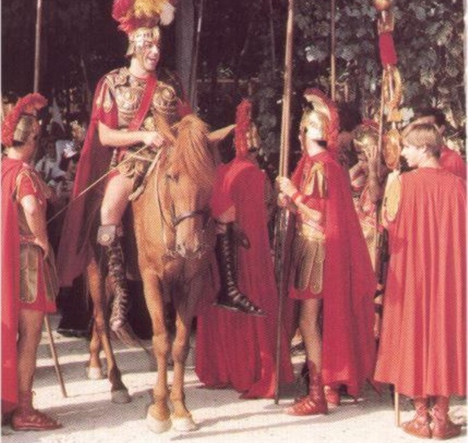 El ejercito romano, ayudo a la gran expansión del cultivo del olivo