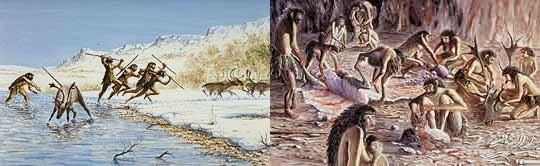 En la prehistoria cortaban la carne en tiras finas y las dejaban secar al sol