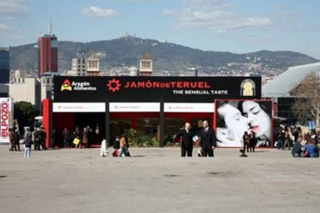 Stand del Jamón de Teruel en Alimentaria