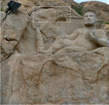 Heracles tumbado bajo un olivo