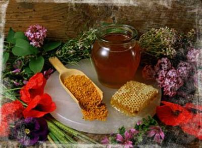 Algunos de los productos naturales procedentes de la colmena
