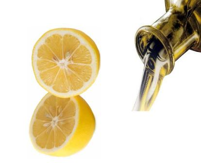 Limón y aceite de oliva forman una mezcla ideal para tratar problemas de salud