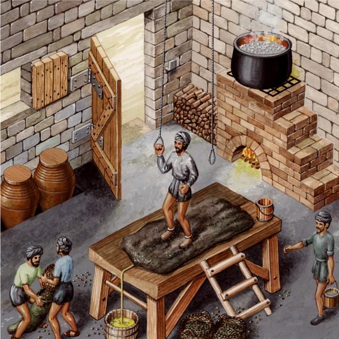 El sistema de pisado, es muy utilizado desde la antigüedad