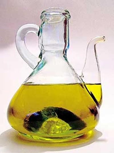 Aceite de oliva ecológico.